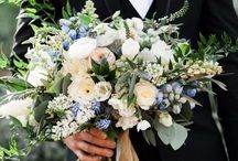 BOUQS | inspiration for wedding bouquets / The most important accessory is what you carry to the altar.