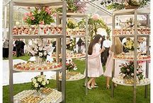 SWEETS | inspiration for displaying desserts / wedding desserts to die for.