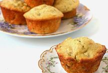 Muffins, Cakes & Quick Breads / Mostly Easy Recipes with some pretty cakes too
