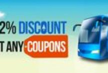 Bus Ticket  Offers Coupon codes / Check out our latest offers and promotions to book your bus tickets across India to avail great discounts.
