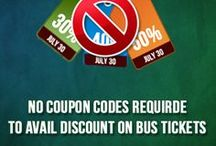 Cheap Bus Tickets Online / Check out latest offers and promotions to avail cheap bus tickets with out any coupon codes.