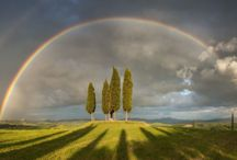 Tuscany landscapes / Beauty and charm of Tuscany in pictures (+Umbria)