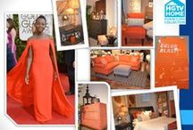HGTV's Red Carpet Looks / How your favorite celebrity's fashion can translate into your home decor.