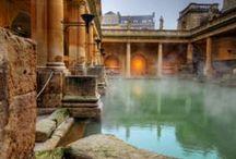 The City of Bath. / The place of my birth. Bath, England.