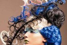 Fryzury - makijaż / stylizacje