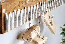 Calendarios de Adviento-DIY / Haz tú mismo tu Calendario de Adviento