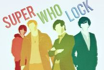 SuperWhoLock / Everything Fandom related