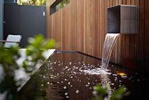 Fontaines, bassins et cascades