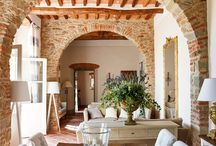 True Tuscany interiors / Tuscany style is not just a style, but an ancient way to build a house, almost unchanged for thousands years, since Romans and even Etruscan. It's very simply, practical and robust, and it remains the same in the process of reconstruction.