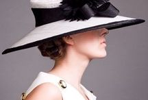 Millinery / Not only the hat, but the whole style is so captivating!