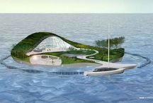 Recycled Island / Recycled Island is a proposal to make a new floating island, from the existing plastic coastal pollution. www.recycledisland.com