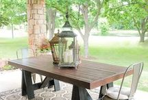 tables, furniture / ideas