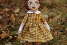 Cloth Dolls etc..