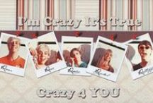 Crazy 4 U / by R5 Family Pinterest