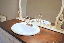 upstairs bathroom / bathroom ideas