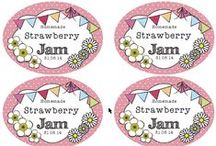 Jar Labels / Jar labels and printable templates