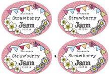 Jar Labels / Jar labels and printable templates
