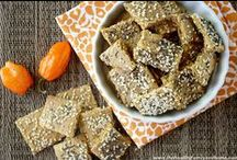 crackers and bread
