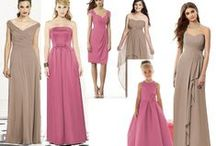 Bridesmaid dresses / Bridesmaid dresses from different designers. We carry The Dessy Group and Sorella Vita.