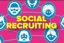 Social Recruiting & Social Media / The future of recruiting is social recruiting. If you'd like to learn about this new trend in recruiting, follow this board!