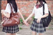 Азиатская школьная форма