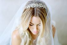 Wedding hair and head pieces