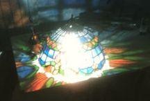 Talleres vidrieras Tiffanys Bagabiltza y Centro Cívico Rekalde. / Trabajos realizados por las alumnas de los Talleres de Bagabiltza y Cento cívico de Rekalde. Profesora: Paula Mónica Betanzos