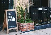 But first, C O F F E E / All about picking, roasting, brewing, and sipping coffee.