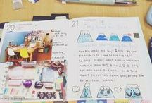 January / Photos of the 2016 Travelling Hobonichi during it's travels!