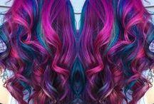 galaxy hair / Idées coiffure et coloration Galaxy hair