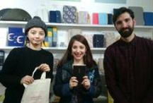 Welcome Travelling Hobonichi! / Getting our Travelling Hobonichi at Tobichi store, in Omotesando
