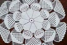crochet doily-border