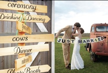 """A Rustic Long Island Wedding: Leslie & Ben / Congratulations Leslie & Ben! Plan the perfect Outdoor or Rustic-Themed weddings with a few inspirational visuals from Leslie & Ben's special day! Leslie chose Michelle New York Bride's """"Waverly"""" gown."""