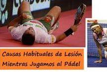 Lesiones en Pádel