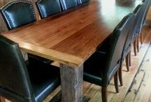 Rustic tables  / Rustic tables to fit any room