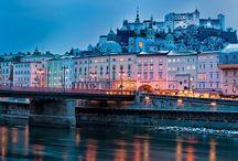 Salzburg - Wien - Linz  -Graz- / by Cella Cless