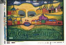 Hundertwasser -  / by Cella Cless