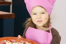 Kids in the Kitchen / Cooking with kids is a great way for them to lean about food and nutrition... it's great fun too! Here are some great recipe ideas for kids.