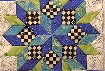 patchwork e quilting / coperte patchwork