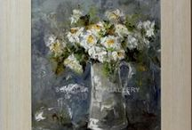 Spanish Fine Art - Paintings of flowers / Check out our catalog of flowers. In our online art gallery we sell oil paintings and art at the best price. We specialize in Spanish artists.