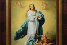 Religious paintings / Check out our religious paintings. In our online art gallery we sell oil paintings and art at the best price. We specialize in Spanish artists.