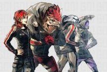 Mass Effect / Des images ou des fan-arts sur la trilogie Mass Effect (et beaucoup de Garrus)