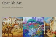 Original Paintings Exports- Spanish Fine Art / SPANISH FINE ART is a Spanish brand specializing in distribution and representation of Spanish artists and original works of art for art galleries and vendors in Europe and worldwide.