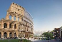 Plan B: The Colosseum / To challenge preconceptions and explore the possibilities of wood construction, we've started a project called Plan B. In it, we'll plan how to build iconic architectural designs out of wood. Our first case is the Roman Colosseum.