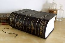 Magic Books / A collection of beautiful grimoires, books of spells and other magical textbooks