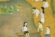 Maï Thu, Vietnamese painter I love
