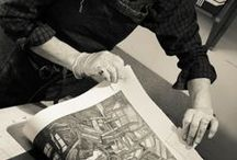 Printmaker / The beauty and diversity of artist's relief prints
