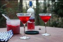 Libations / Cocktails & Mocktails made with fresh Sorbet