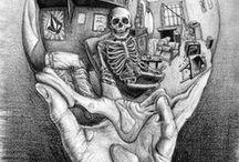 Skulls as art. / by J. Kennedy