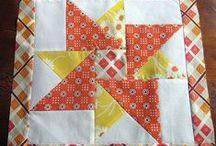 Quilt Blocks / blocks good for mug rugs also / by Barbara Dodd